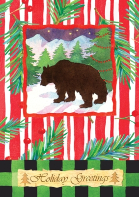 Winter Bear - Standard Flag by Toland