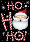 Ho Ho Ho Santa - Standard Flag by Toland