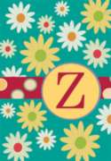 Monogram Whimsey Z - Standard Flag by Toland