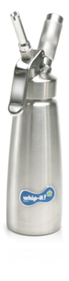 Whip-it! Cream Whipper (Screw Valve) - .5L Metal (Stainless)