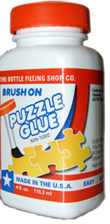 Brush On Puzzle Glue - Jigsaw Puzzle Accessory
