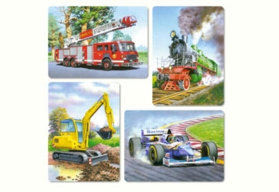 Vehicles - 8,12,15,20pc Jigsaw Puzzle by Castorland