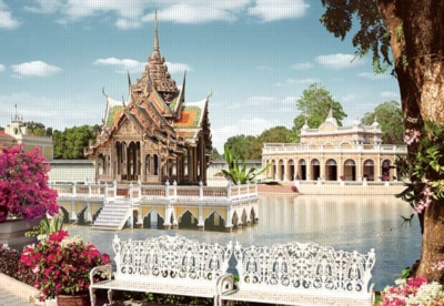 Pang Pa-in Palace, Thailand - 1000pc Jigsaw Puzzle by Castorland