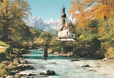 Ramsau, Germany - 1000pc Jigsaw Puzzle by Castorland
