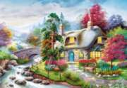 Cottage - 1000pc Jigsaw Puzzle by Castorland