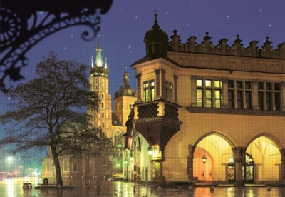 Cracow, Poland - 1000pc Jigsaw Puzzle by Castorland