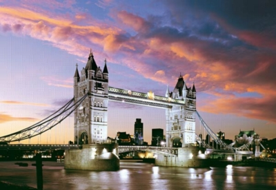 Tower Bridge, London, England - 1000pc Jigsaw Puzzle by Castorland