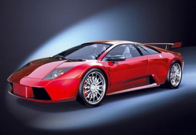 Lamborghini Murcielago - 1000pc Jigsaw Puzzle by Castorland