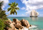 Sailing in Paradise - 1500pc Jigsaw Puzzle by Castorland