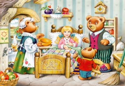 Goldilocks and the Three Bears - 260pc Jigsaw Puzzle by Castorland
