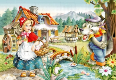 Little Red Riding Hood - 260pc Jigsaw Puzzle by Castorland