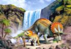 Triceratops (T. Horridus) - 260pc Jigsaw Puzzle For Kids by Castorland