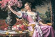 Lady in Purple Dress - 3000pc Jigsaw Puzzle by Castorland