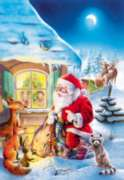 Santa Claus is Coming - 500pc Jigsaw Puzzle by Castorland