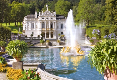 Linderhof Palace, Germany - 500pc Jigsaw Puzzle by Castorland