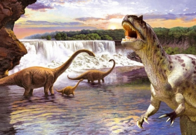 Dinosaurs Jigsaw Puzzles for Kids - Diplodocus