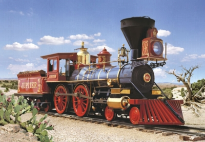 Locomotive Jupiter - 500pc Jigsaw Puzzle by Castorland