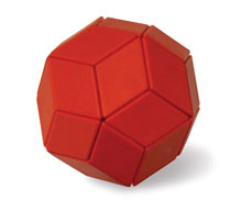 Ball of Whacks (Red) - Magnetic Puzzle