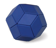 Ball of Whacks (Blue) - Magnetic Puzzle