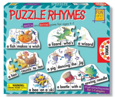 Puzzle Rhymes - 62pc Jigsaw Puzzle by EDUCA