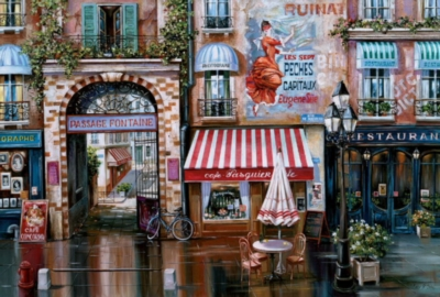 Educa Jigsaw Puzzles - Passage Fontaine
