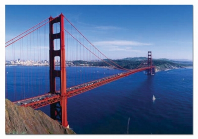 Golden Gate Bridge, San Francisco - 1000pc Jigsaw Puzzle by EDUCA