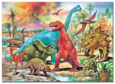 Dinosaurs - 100pc Jigsaw Puzzle by EDUCA