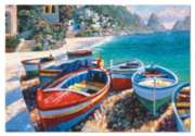 Howard Behrens: Capri Cove - 500pc Jigsaw Puzzle by EDUCA