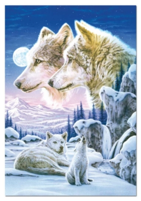 Howling Cub Crop - 500pc Jigsaw Puzzle by EDUCA