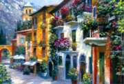 Howard Behrens: Village Hideaway - 2000pc Jigsaw Puzzle by EDUCA
