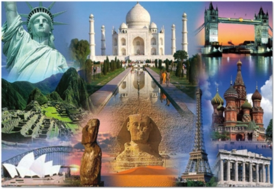 Educa Jigsaw Puzzles - World Collage