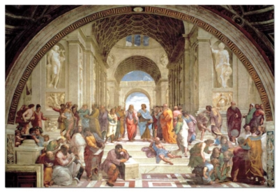 Raphael : The School Of Athens - 8000pc Jigsaw Puzzle by EDUCA