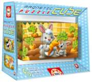 Cube Animals - 6pc Magnetic Block Puzzle by Educa