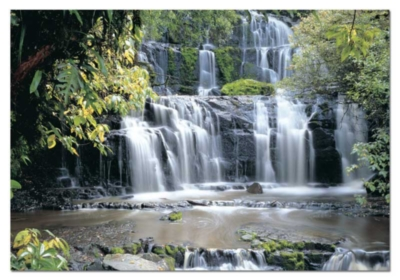 Parakauni Falls, New Zealand - 1500pc Jigsaw Puzzle by Educa