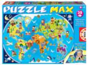 My First Map Of The World - 35pc Jumbo Puzzle by Educa