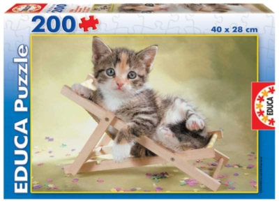 Exhausted - 200pc Jigsaw Puzzle by Educa