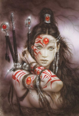 Luis Royo: Urano's Drops - 1000pc Jigsaw Puzzle by Educa