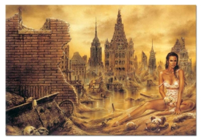 Luis Royo: Dolls - 1000pc Jigsaw Puzzle by Educa