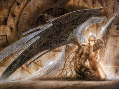 Luis Royo: The Fallen Angel - 1500pc Jigsaw Puzzle by Educa