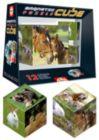 Cube Animals - 8pc Magnetic Block Puzzle by Educa