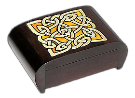 Puzzle Box - Celtic (Brown)