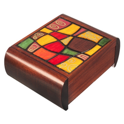 Puzzle Box - Modern Art Medium - Secret