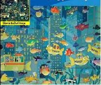 Fish City - 100pc Glow in the Dark Jigsaw Puzzle By Great American Puzzle Factory