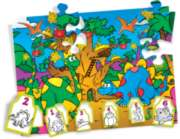 Crayola Dizzy Dinos - 36pc Jigsaw Puzzle By Great American Puzzle Factory