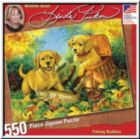 Fishing Buddies - 550pc Jigsaw Puzzle by Great American Puzzle Factory