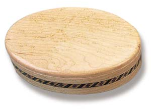 Spin Perimeter (Bird's Eye Maple) - Puzzle Box
