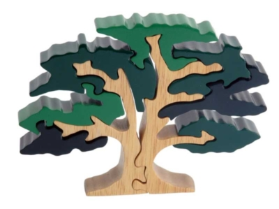 Majestic Oak - 9pc Eco-Friendly Wooden Jigsaw Puzzle by ImagiPLAY