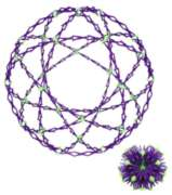 Hoberman Sphere - Universe (Glow-in-the-Dark)