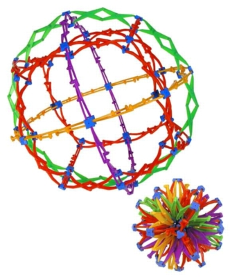Mini Hoberman Sphere - Rings