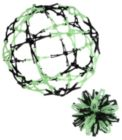 Mini Hoberman Sphere - Firefly (Glow-in-the-Dark)